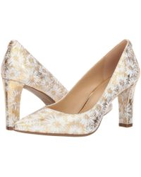 717e6e6ca1a8 Lyst - MICHAEL Michael Kors Abbi Flex Cheetah Print Calf Hair Pumps ...