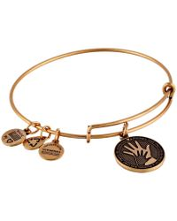 ALEX AND ANI - Hand In Hand Charm Bangle - Lyst