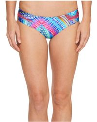 Luli Fama - Star Girl Stitched Straps Reversible Moderate Bottoms - Lyst