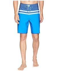 f351eda656572 Onia Azure Palms Swim Trunks in Blue for Men - Lyst