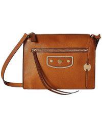 7854b53751564 Lodis Pismo Pearl Kay Accordion Crossbody (toffee) Cross Body Handbags