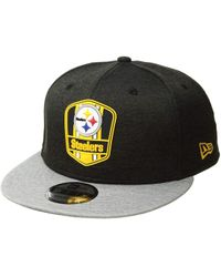 60008e7a581 KTZ - 9fifty Official Sideline Away Snapback - Pittsburgh Steelers - Lyst