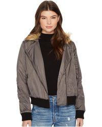 BB Dakota - Powell Faux Fur Hooded Jacket - Lyst