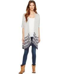Stetson - 1166 Heather Grey Slub Sweater Knit - Lyst