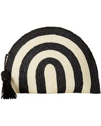 4c12744f9a San Diego Hat Company - Bsb1723 Wheatstraw Clutch Stripe With Tassel - Lyst