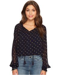 Lucky Brand - Smocked Top - Lyst