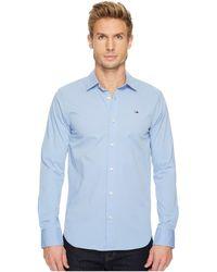 Hilfiger Denim - Original Stretch Long Sleeve Shirt - Lyst