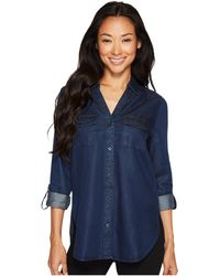 NYDJ - Denim Shirt W/ Pockets - Lyst
