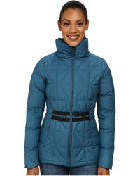 The North Face - Belted Mera Peak Jacket - Lyst
