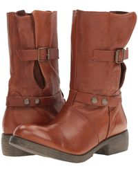 Massimo Matteo - Biker Boot With Buckle - Lyst