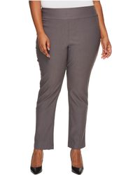 NIC+ZOE - Plus Size Wonderstretch Pants - Lyst
