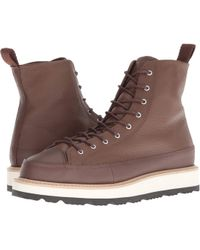 78025d300173 Lyst - Converse Chuck Ii Waterproof Mesh Backed Leather Boot in ...
