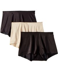 Miraclesuit - Tc Intimates By Miraclesuit Microfiber Boyshorts 3-pack - Lyst