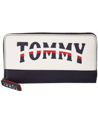 e6df633835f Tommy Hilfiger - Viola Zip Wallet (off-white) Wallet Handbags - Lyst