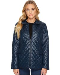 Ellen Tracy - Short Quilted Jacket - Lyst