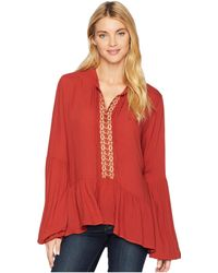 Stetson - 2084 Rayon Crepe Peasant - Lyst