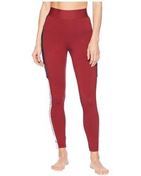 3871b5c67ba adidas - Sport Id Tights (noble Maroon/legend Ink/white) Casual Pants