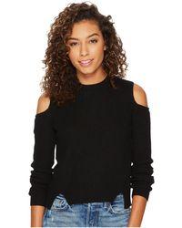 Lucky Brand - Cold Shoulder Sweatshirt - Lyst