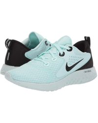 Nike - Legend React (teal Tint/black/barely Grey) Running Shoes - Lyst