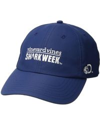 Vineyard Vines - Shark Week Performance Baseball Hat - Lyst