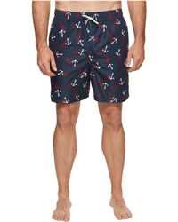71b2b52dee Polo Ralph Lauren Men's Classic-fit Swim Shorts in Red for Men - Lyst