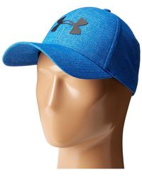35bfa848ddd Lyst - Under Armour Twist Print Tech Closer Hat in Blue for Men