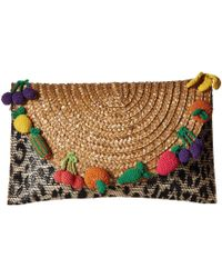 Betsey Johnson - Fruit Straw Clutch - Lyst
