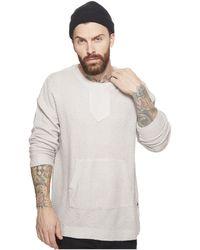 Publish - Nico Long Sleeve Knit Sweater W/ Kangaroo Pocket - Lyst