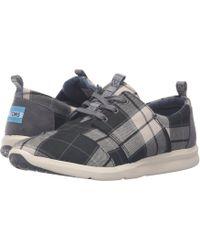 373ec66e0fb Lyst - TOMS Birch Heather Jersey Women s Del Rey Sneakers
