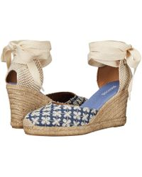 Soludos - Pattern Tall Wedge - Lyst