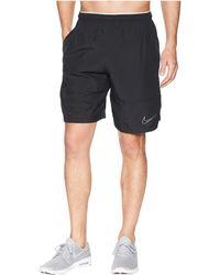 e228566e5c82 Lyst - Nike Untouchable Woven Football Shorts in Black for Men