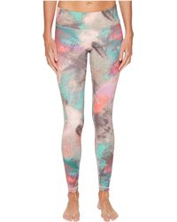 Reebok - Lux Bold Tights - Chalked - Lyst