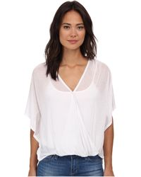 Culture Phit - Katie Butterfly Arm Top - Lyst