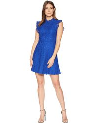 Alexia Admor - Ruffle Sleeve Fit & Flare Lace Dress - Lyst
