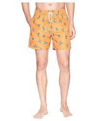 a63ad0597c8ec Polo Ralph Lauren Traveler Mid-length Swim Shorts in Blue for Men - Save  60% - Lyst