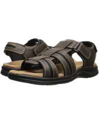 Dockers - Pierpoint (dark Brown Waxy Distressed) Men's Sandals - Lyst