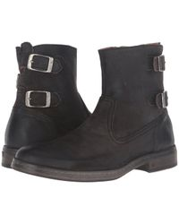 John Varvatos - Julian Zip Boot - Lyst