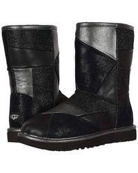 df77c881c5b Classic Glitter Patchwork (black) Pull-on Boots