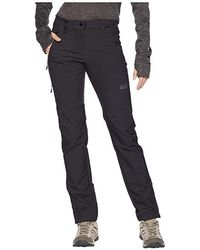 951c0491c3 Jack Wolfskin Activate Sky Pants (black) Women's Casual Pants in ...
