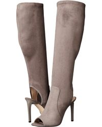 Nine West - Lettie Tall Peep Toe Boots - Lyst