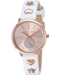 e8a416dbfbd8 Lyst - Michael Kors Mk2735 - Portia (pink) Watches in Pink