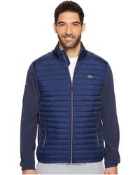 Lacoste - Sport Golf Quilted Jacket - Lyst