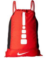 6d5ecbe3ff678c Lyst - Nike Hoops Elite Max Air Team in Red