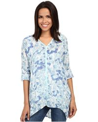 Miraclebody - Shea Waterlily Print Tunic W/ Body-shaping Inner Shell - Lyst