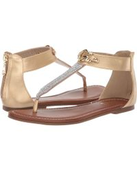 369978d3cef69 Lyst - G by Guess Tunez Flat Sandals in Black