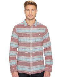 True Grit - High Altitude Taos Stripe Long Sleeve Two-pocket Shirt - Lyst
