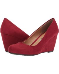 Dirty Laundry - Dl Not Me Wedge Pump - Lyst