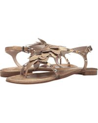 Kennel & Schmenger - Oversized Flower Sandal - Lyst