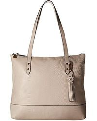 698ae678350 The Sak - Arriba Tote By Collective (stone Exotic) Tote Handbags - Lyst