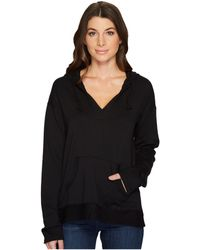 Mod-o-doc - Cotton Modal Spandex French Terry Drop Shoulder Pullover Hoodie - Lyst